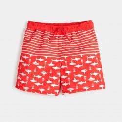 Printed swim trunks - Coral...