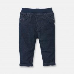 Velvet pants with elastic...