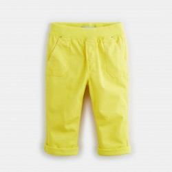 Colored twill pants -...