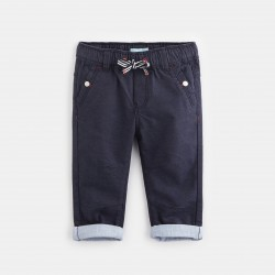 Canvas pants with an...