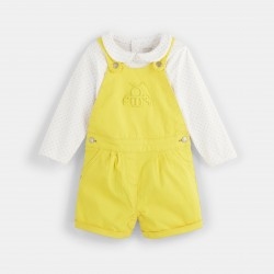 Short overalls and printed...