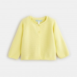 Colored knit cardigan -...