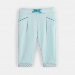 Printed fleece jogpants -...