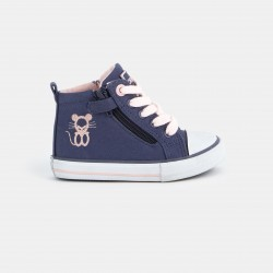 High-top sneakers with...