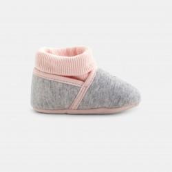 Booties for babies - Gray