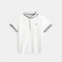 Plain-colored jersey polo...