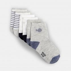 Assorted socks (3-pair set)...