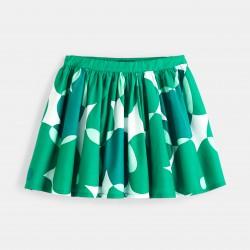 Printed skirt - Clover Green