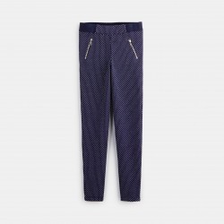 Jeggings with small motifs...