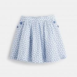 Flared skirt - Blue Print