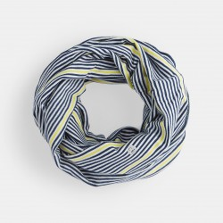 Double striped jersey snood...