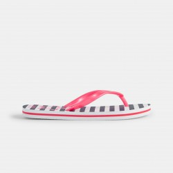 Striped flip-flops and star...