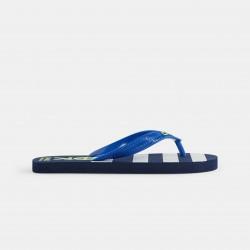 Striped flip-flops - Μπλε