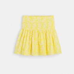 Flared skirt - Yellow Print