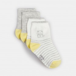 Assorted socks (2-pair set)...